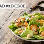 Q&A: BC/AD vs BCE/CE