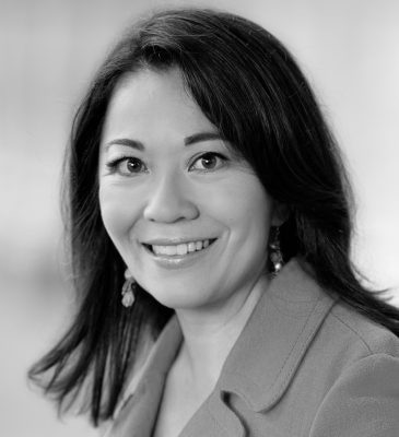 Valerie Khoo headshot black and white
