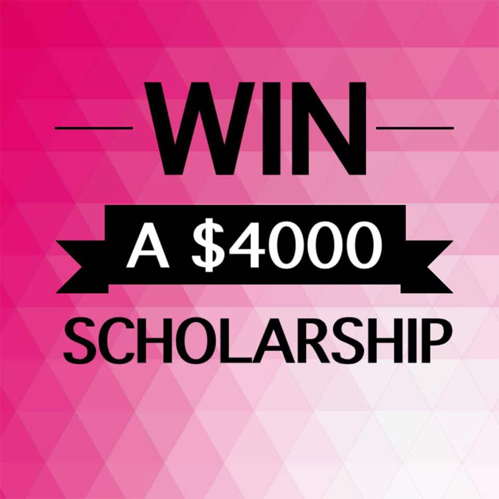 Win $4000 scholarship