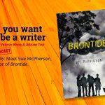 Ep 316 Meet Sue McPherson, author of 'Brontide'.