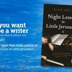 Ep 330 Meet Rick Held, author of 'Night Lessons in Little Jerusalem'.