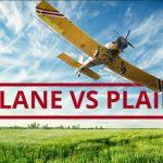 Q&A: Plane vs plain