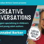 Watch 'Creative Conversations' with literary agent Annabel Barker