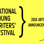 National Young Writers' Festival announces its 2018 artist lineup