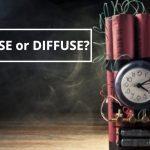 Q&A: Defuse or diffuse