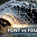 Q&A: Font vs Fount