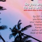 Ep 257 Meet Karen Foxlee, author of 'Lenny's Book of Everything'