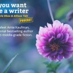Ep 276 Meet Amie Kaufman, international bestselling author of YA and middle-grade fiction.