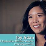 Joy Adan: Living her dream as a freelance writer