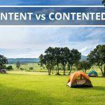 Q&A: Content vs contented