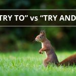 """Q&A: """"Try to"""" vs """"Try and"""""""