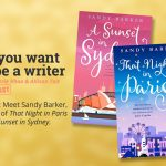Ep 340 Meet Sandy Barker, author of 'That Night in Paris' and 'A Sunset in Sydney'.