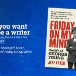 Ep 343 Meet Jeff Apter, author of 'Friday On My Mind'.