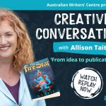 Watch Creative Conversations with bestselling middle-grade author Allison Tait