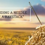 """Q&A: """"Finding a needle in a haystack""""?"""