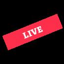 LIVE label diagonal